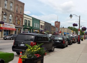 Fenelon Falls, downtown