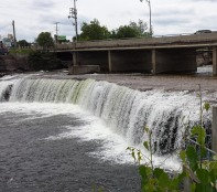 And indeed, there is a waterfall in Fenelon Falls. Locks too.