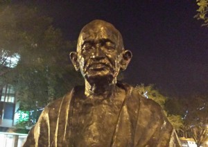 Didn't expect to find Ghandi in Saskatoon. That sort of place, I guess.