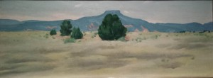 Georgia O'Keeffe: Ghost Ranch Landscape, 1936