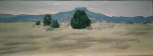 Georgia O'Keeffe: Ghost Ranch Landscape, 1936
