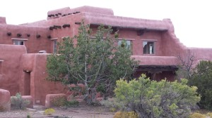 The Painted Desert Inn, inside the park.
