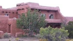 The Painted Desert Inn, inside the park.