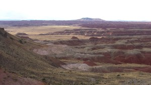 The Painted Desert (fancy name for badlands)